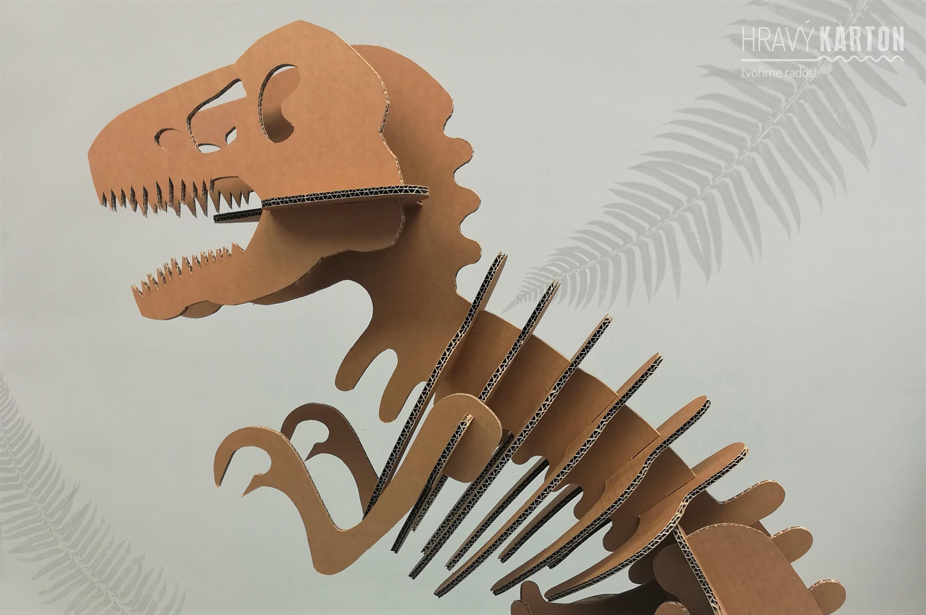 Novinka na e-shopu nejen pro děti – Tyrannosaurus Tom