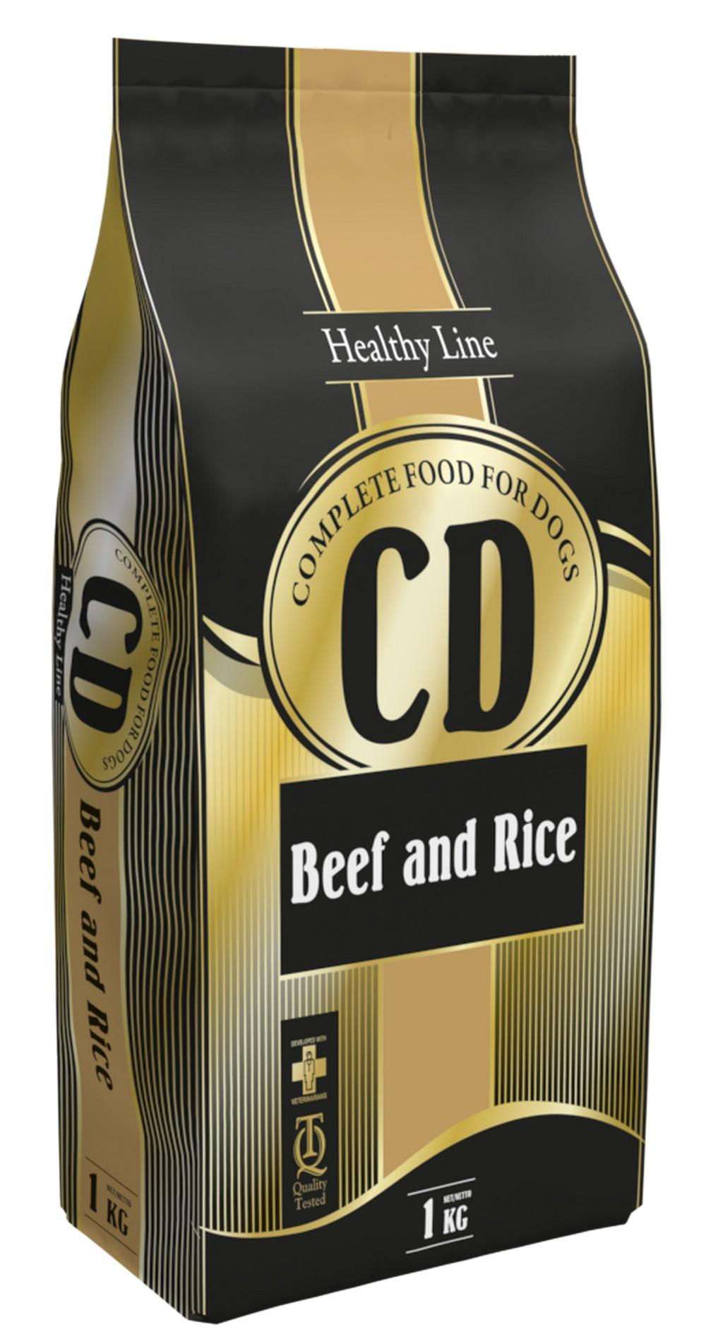 Delikan - CD Beef nad Rice 1 kg, 25/10
